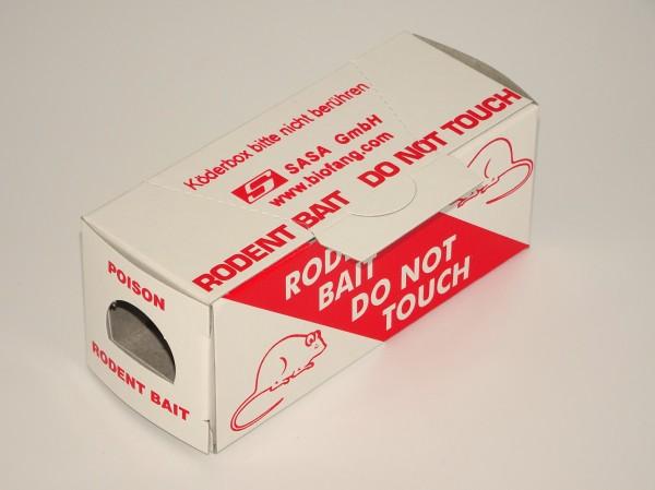 Mäuse-Fraßköder-Boxen aus Pappe