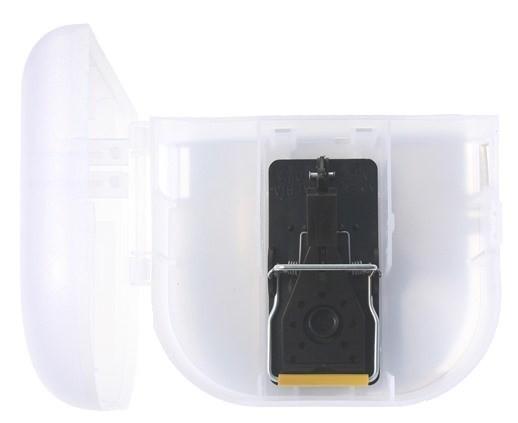 Mäusebox (abschließbar) mit integrierter Schlagfalle